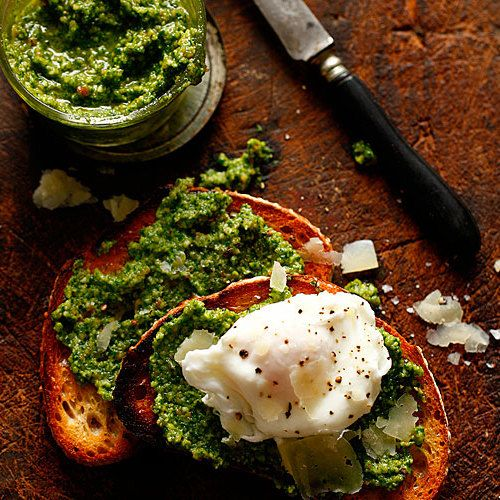 Manchego and Marcona Almond Pesto - FineCooking