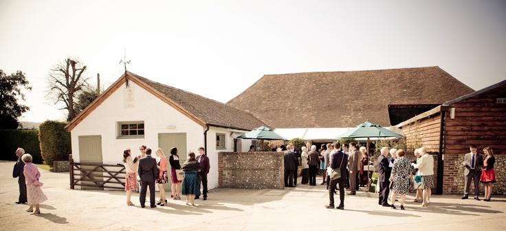 A Pangdean Barn Sussex Wedding, Rachel and Dan's Rainbow Inspired Day