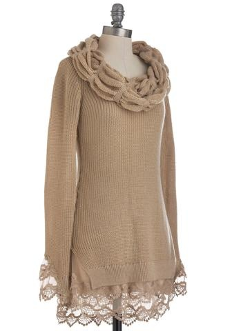 Ryu Taupe About It Sweater | Modcloth.com