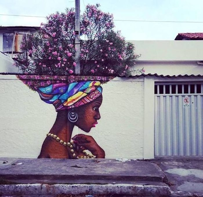 This rocks my world. Awesome street art.