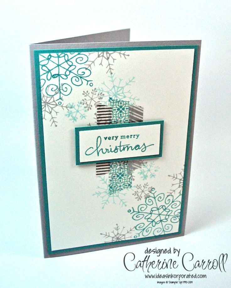 Endless Wishes with All is Calm washi tape, by Catherine Carroll, UK Stampin' Up! Demonstrator