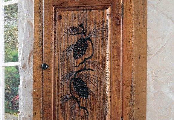 Top 9 Rustic Bathroom Wall Cabinets Ideas