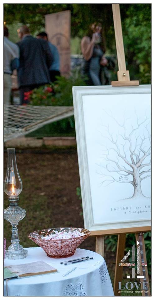 #chic #rustic #garden #γάμος, #wishes corner - Floral Artist Ντίνος Μαβίδης & Concept Stylist Μάνθα Μάντζιου #4LOVEgr
