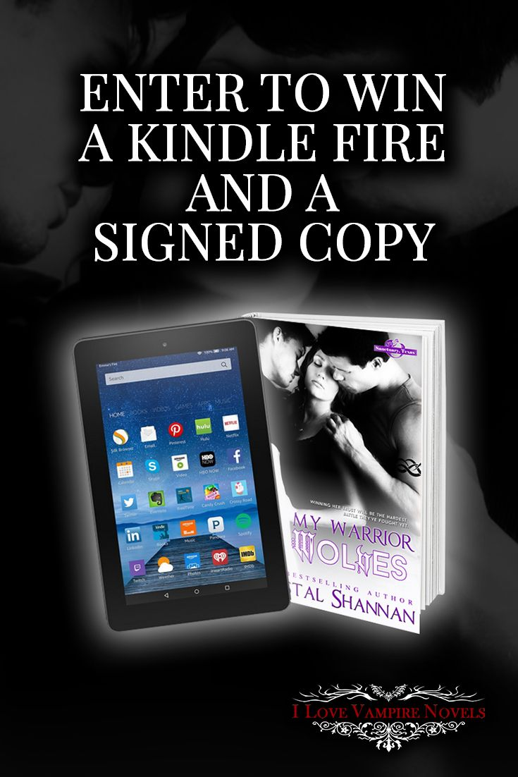 Win a Kindle Fire & Signed Paperback from Bestselling Author Krystal Shannan