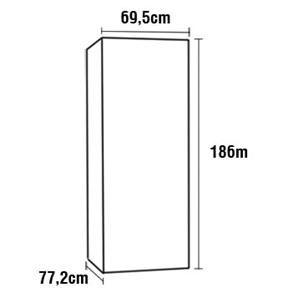 R$ 7.500,00 - Ponto Frio - Refrigerador Panasonic BB52 Frost Free com Porta de Vidro e Tecnologia Inverter 423 L - Preto
