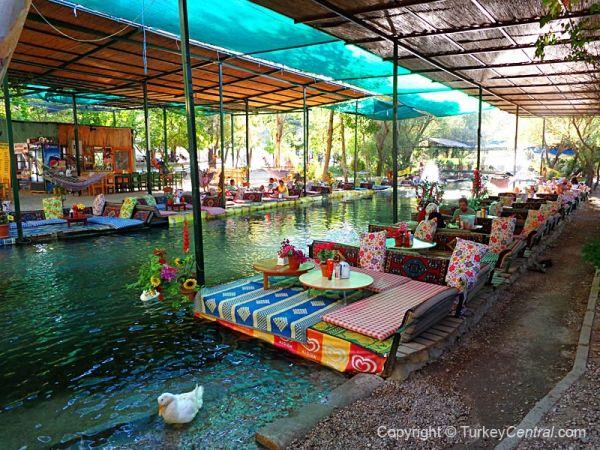 Saklikent Gorge Photos - Turkey Central Natural Paradise Restaurant