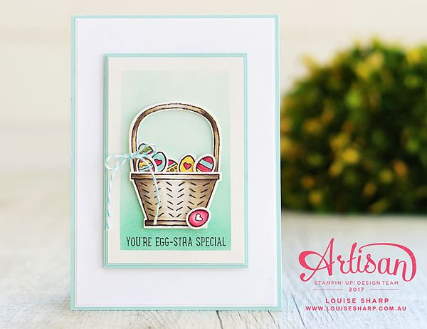 Louise Sharp | Basket Bunch - Stampin' Up! Artisan Blog Hop | Stampin' Up!