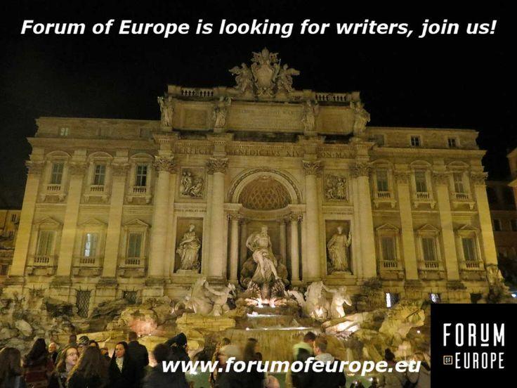 We´re looking for writers, send us a message or e-mail if you're interested! #europe #eu #culture #nederland #amsterdam #utrecht #germany #france #spain #poland #czech #slovakia #slovenia #italy #portugal #austria #greece #estonia #latvia #lithuania #romania #serbia