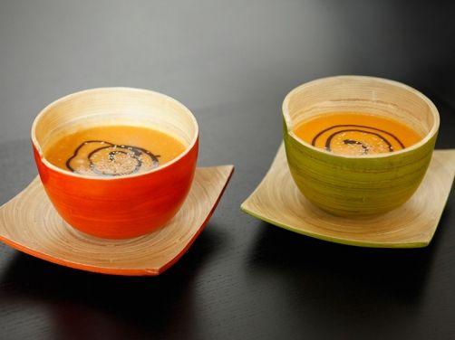 Crema de calabaza y manzana - Robot de cocina Mycook