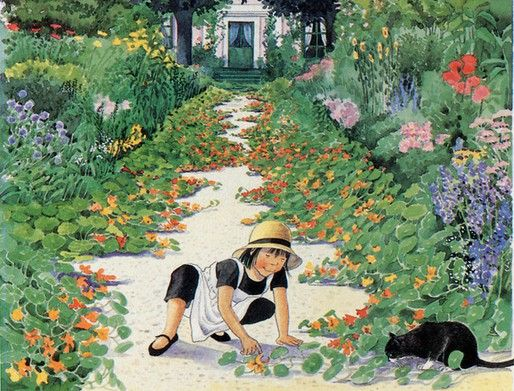 Linnea in the Garden of Monet,  illustrated by Lena Anderson