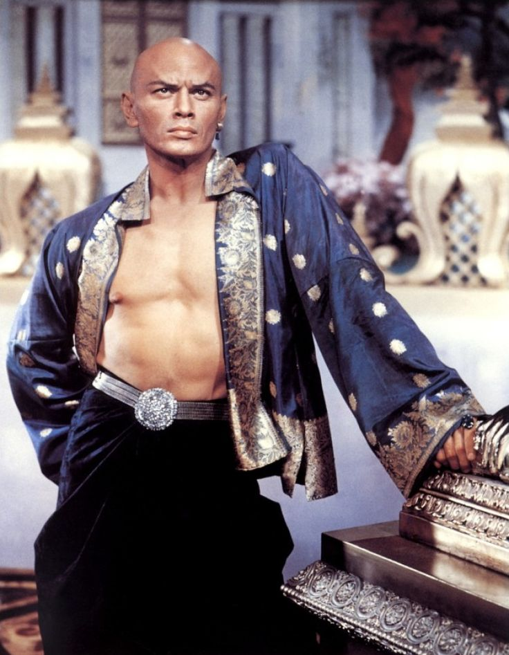 Yul Brynner as King Mongkut of Siam in The King and I (1956) ~ One of my all time favorite Classic Love Stories/Musicals his baritone voice ~Loved! My Mother was fortunate to see The King and I on stage! ~