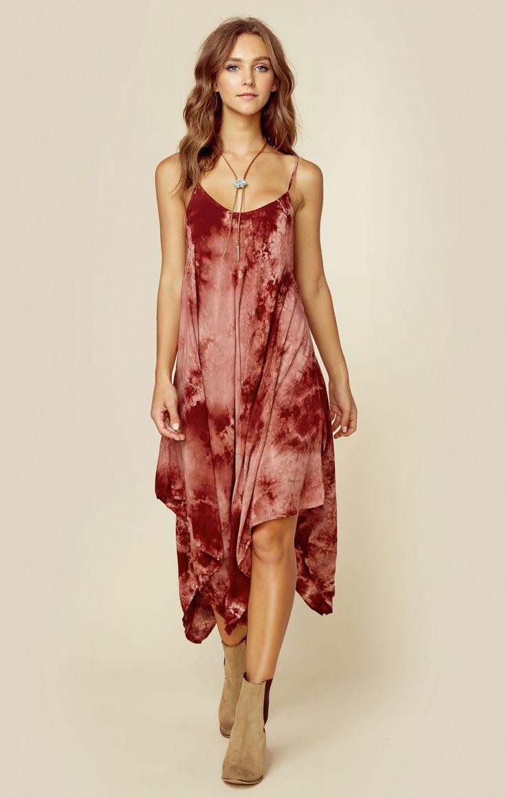 SUNDOWN HANK CAMI DRESS | @ShopPlanetBlue