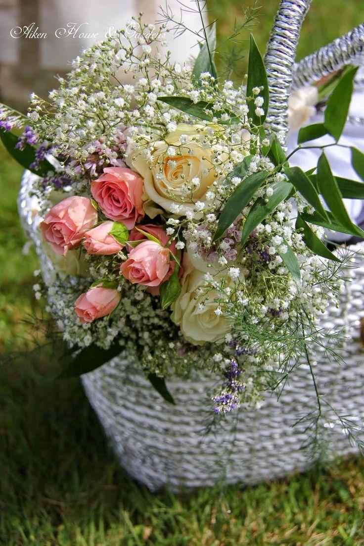 227 best flowers in basket images on pinterest floral arrangements bouquets in baskets aiken house gardens izmirmasajfo