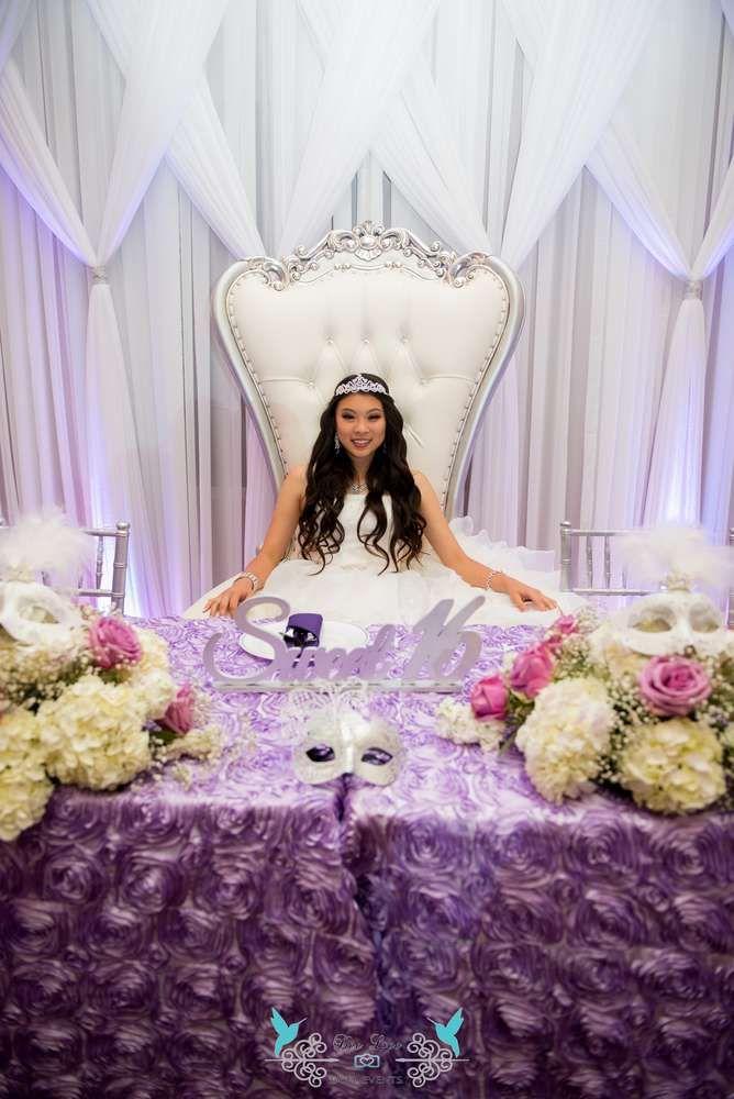 Felicia's Sweet 16 Masquerade Soiree | CatchMyParty.com