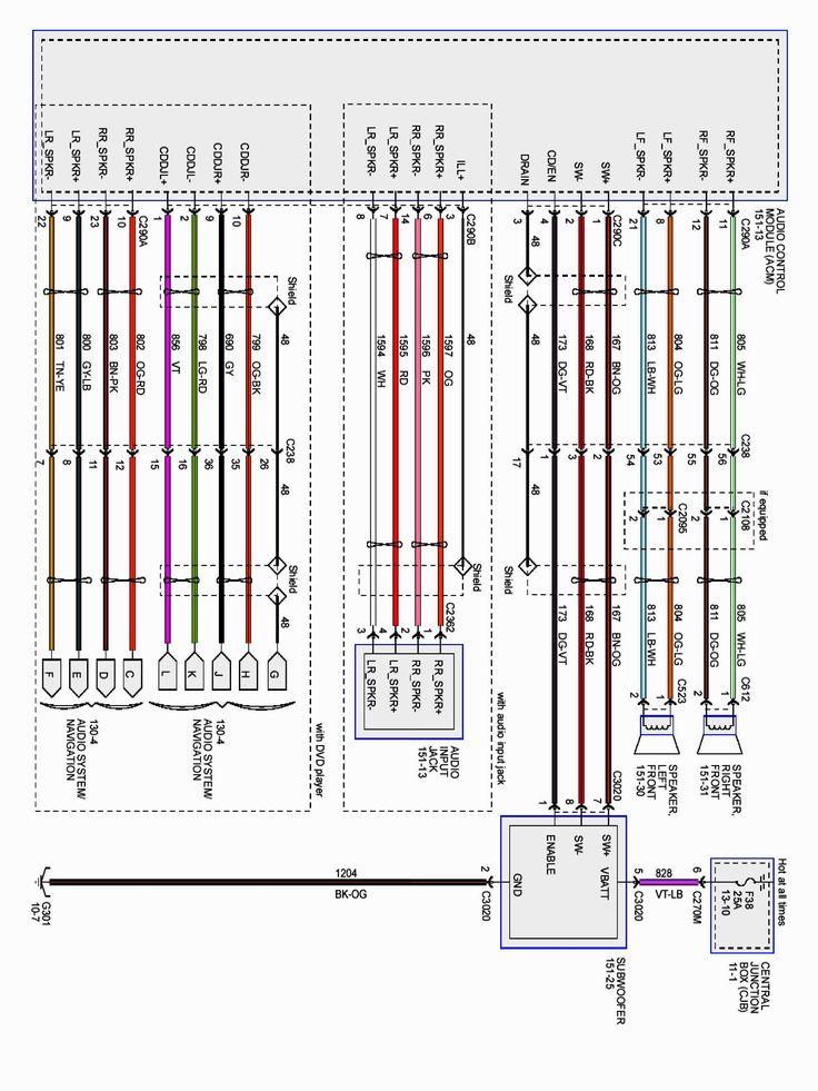 Ford F150 Wiring Diagram  4