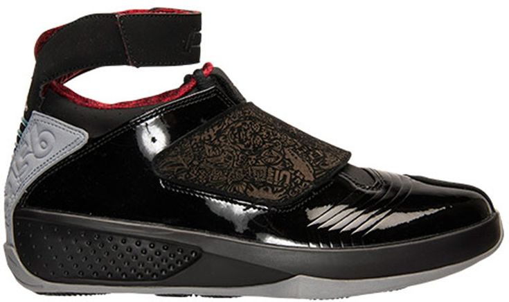 Air Jordan 20 Retro Black/Stealth-Varsity Red 310455-002 [2015022506] - $109.00 :