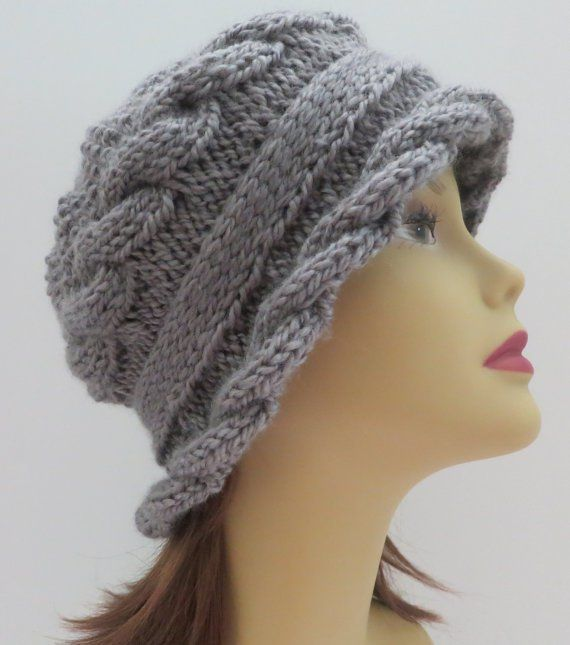 Knit Hat Pattern Free Brim : 307 best images about Kotesmintak - knitting patterns on ...