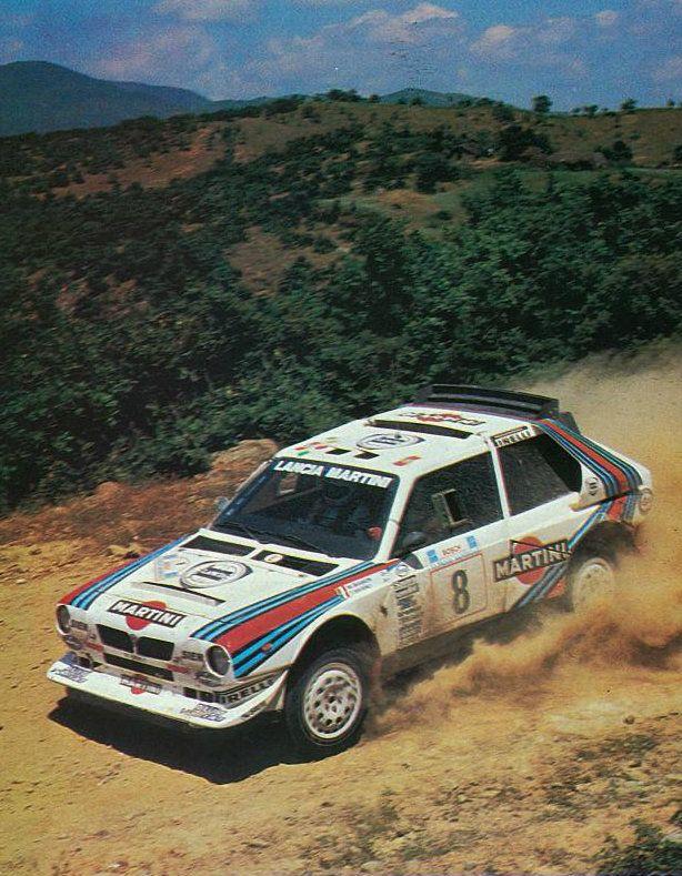 M. Biasion/T. Siviero, Lancia Delta S4, Acropole Rallye 1986, 2th