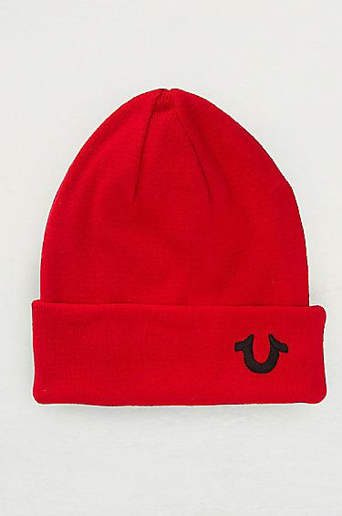 True Religion KNIT COTTON BEANIE