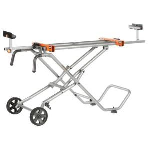 RIDGID Mobile Miter Saw Stand AC9945 at The Home Depot - Mobile