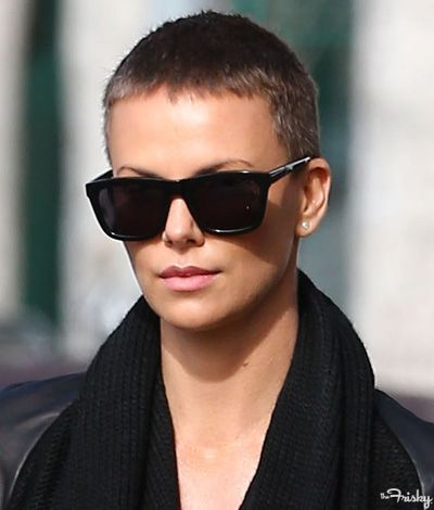 Buzz Cut: Charlize Theron - Charlize Theron Buzz - 7
