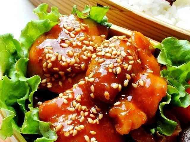 鶏のコチュジャン照り焼き☺弁当お摘みにもの画像