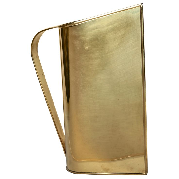 1stdibs.com | Peter Muller-Munk Rare Brass Normandie Pitcher for Revere c.1935