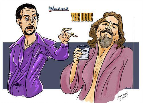 The Dude - Jesus - The big Lebowski