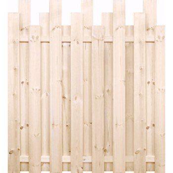Panneau bois plein Palissade, l.180 x H.200 cm, naturel | Leroy Merlin