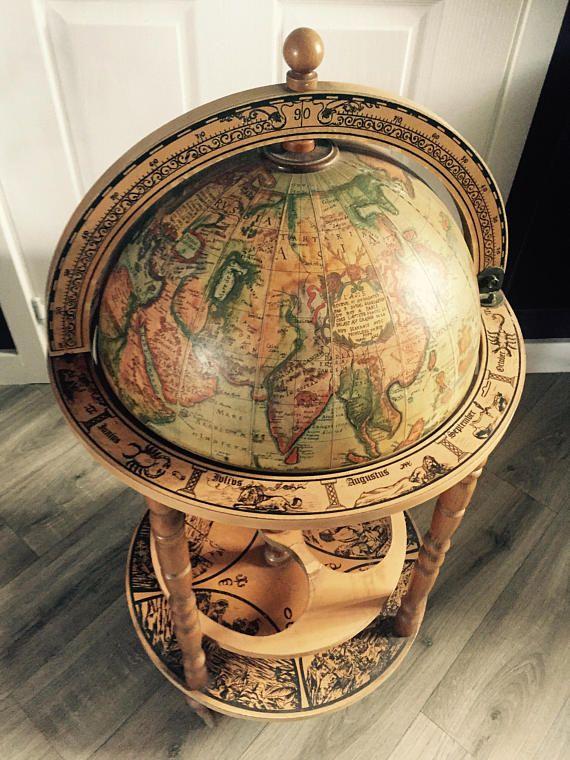 Vintage Globe Drinks Cabinet