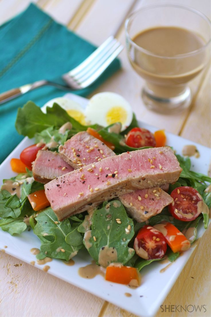 gluten-free grilled tuna salad and 9 other recipes