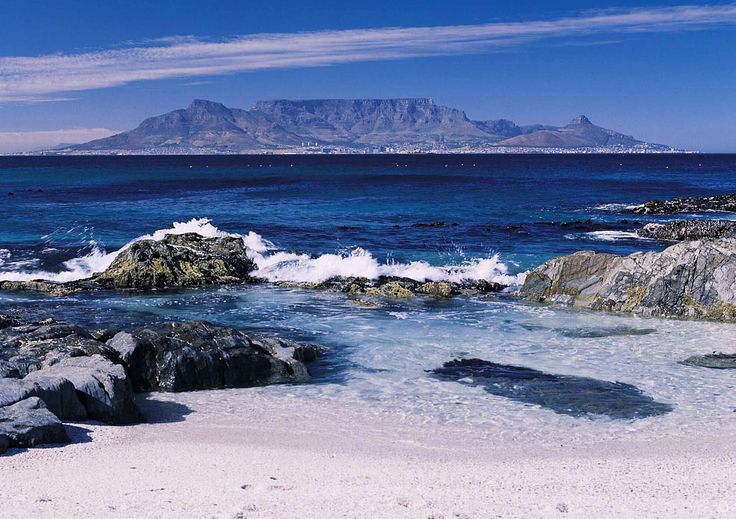 Cape Town is probably one of the most amazing and diverse cities in the world! We have 2 oceans that meet, a mountain which looks like a Table, an island just offshore that was a prison and more than 11 languages   #tablemountain #capetown #beach #sand #waves #ocean #destination #travel #intosol #southafrica