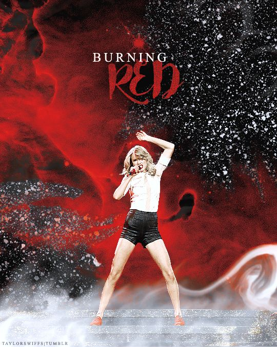 "taylorswiffs: "" "" Every Taylor Swift Tour: RED Tour Red is such an interesting color to correlate with emotion, because it's on both ends of the spectrum. "" """