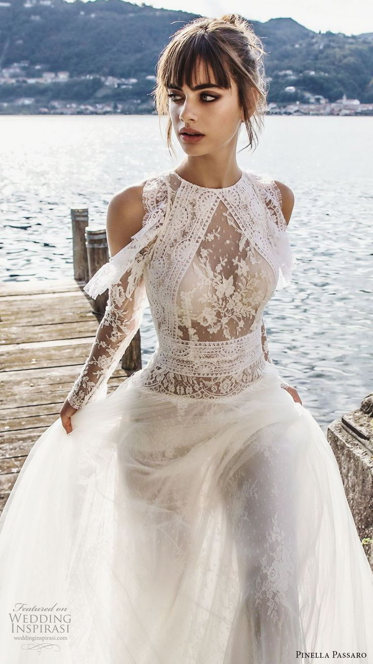 The Ultra Romantic Wedding Dresses of Pinella Passaro