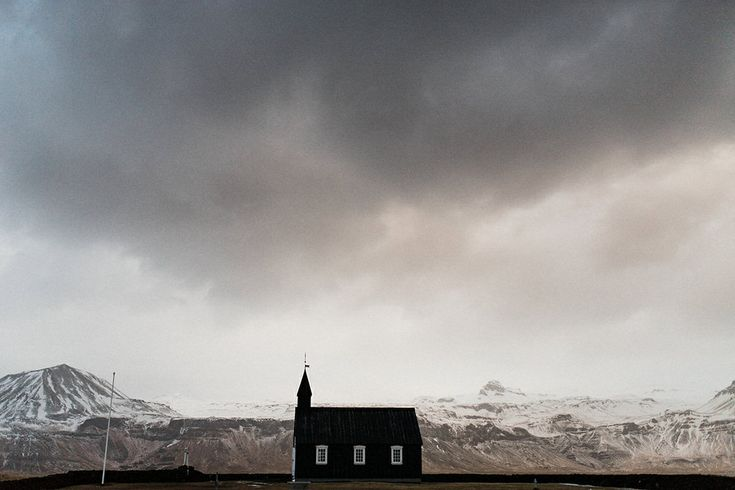 Not a bad place for a wedding =) in Iceland. #Iceland #Blackchruch #Budir #Elopement #PerHenning www.perhenning.com