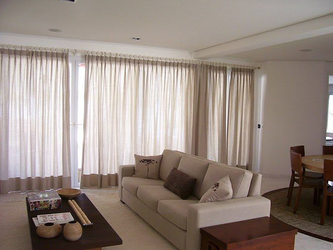 33 best ideias de cortinas para sala images on pinterest for Cortinas para sala pequena