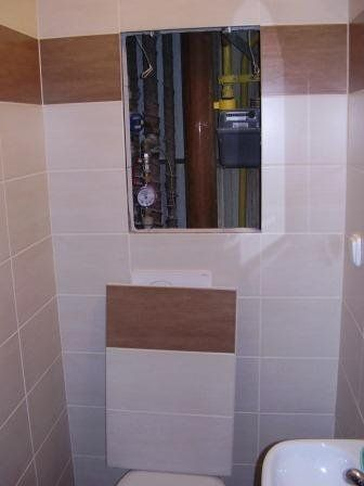 Plumbing bathroom wall tiles and bathroom wall on pinterest for Bathroom access panel ideas
