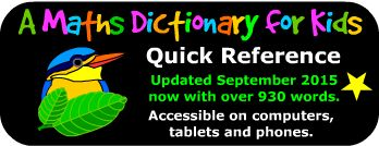 Amazing Math Resource, free and printable -The original A Maths Dictionary for Kids is an animated, interactive online math dictionary for students which explains over 630 common mathematical terms and math words in simple language with definitions, examples, activities, practice and calculators. A Maths Dictionary for Kids Quick Reference is a device friendly html version with definitions and detailed examples for over 930 math words and terms.
