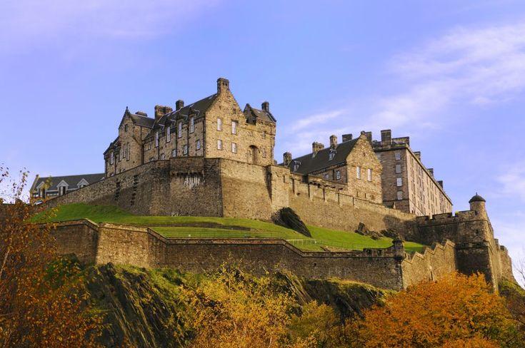 Il Viaggiatore Magazine - castello di Edimburgo, Scozia