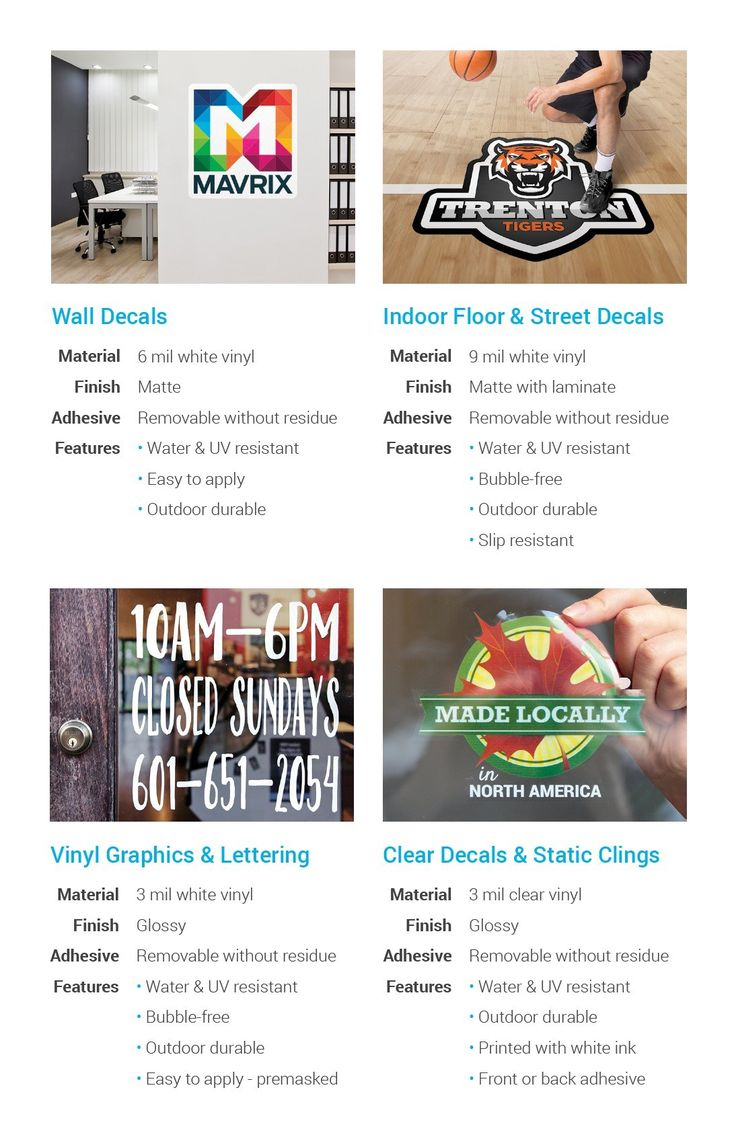 Learn about StickerYou's custom product offerings; stickers, labels, decals, iron-ons, patches, temporary tattoos and more!