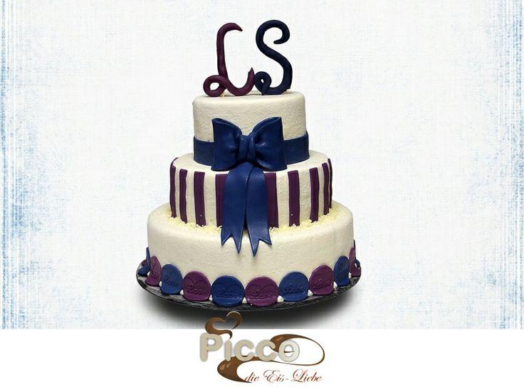 Hochzeitseistorte, Eistorte zur Hochzeit