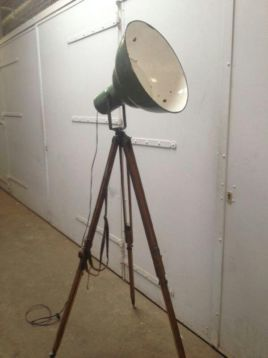 ≥ Industriele lamp/spot/theaterslamp/vintage - Lampen | Spots - Marktplaats.nl