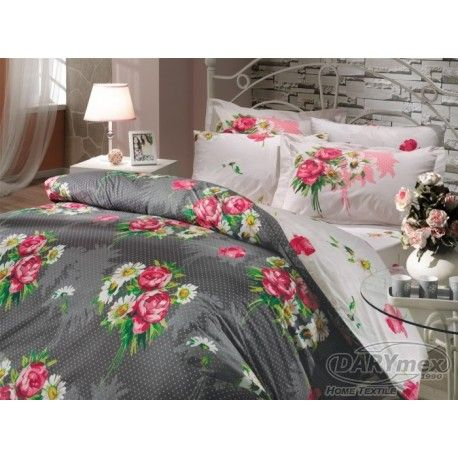 HOBBY CAVINA KOYU GREY, cotton bedlinen, on sklep.darymex.pl