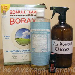 For those who don't like the smell of vinegar, here's an all-purpose cleaner…