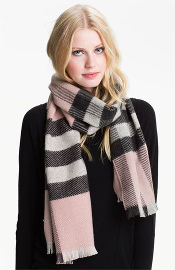 Burberry Cashmere & Merino Wool Scarf available at #Nordstrom