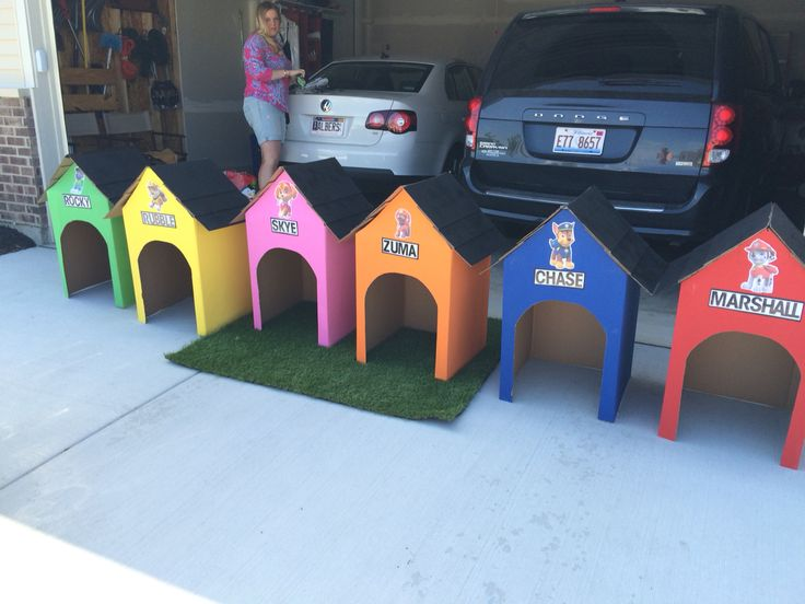 Paw Patrol Dog Houses