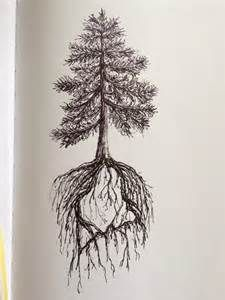 tree roots tattoo - Bing Imágenes