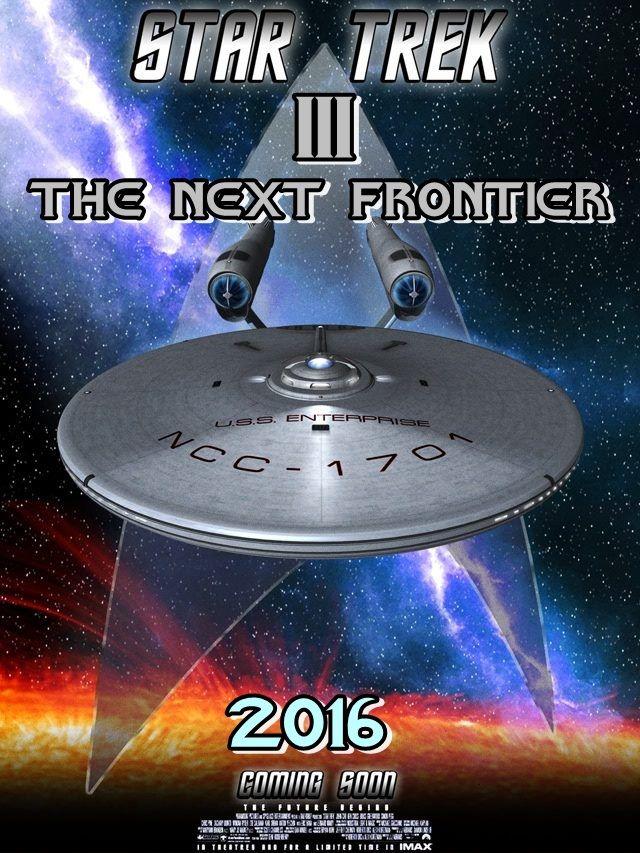 STAR TREK 3 [2016] poster.