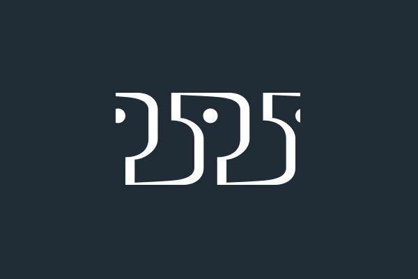 Логотип для Серии книг «25*25» (конкурсная работа).