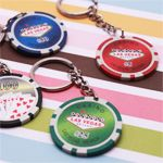 Wedding Favors & Party Supplies - Favors and Flowers :: Wedding Favor Themes :: Las Vegas Wedding Favors :: Las Vegas Wedding Favors :: Poker Key Chain